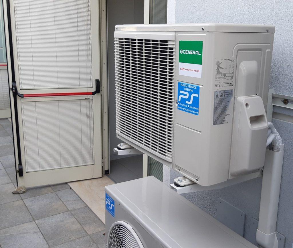 Pompa di calore Fujitsu-General-condizionatori Brescia