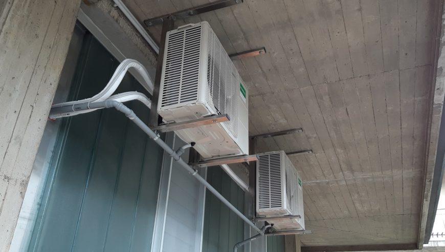 climatizzatori Fujitsu-General-un. esterne staffate-condizionatori Brescia