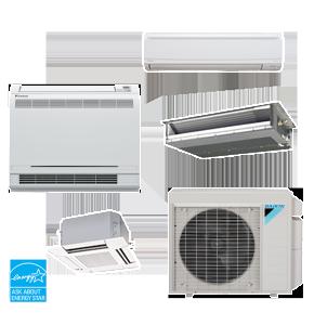 Climatizzatori multisplit-sistema-Daikin-condizionatori brescia