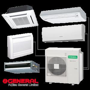 Climatizzatori multisplit-sistema-fujitsu-general-condizionatori brescia